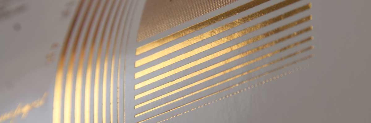 Foil per stampa a caldo metallizzato
