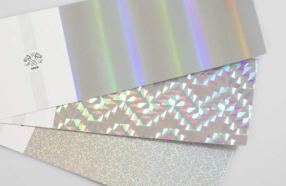 Foil per stampa a caldo prismatico