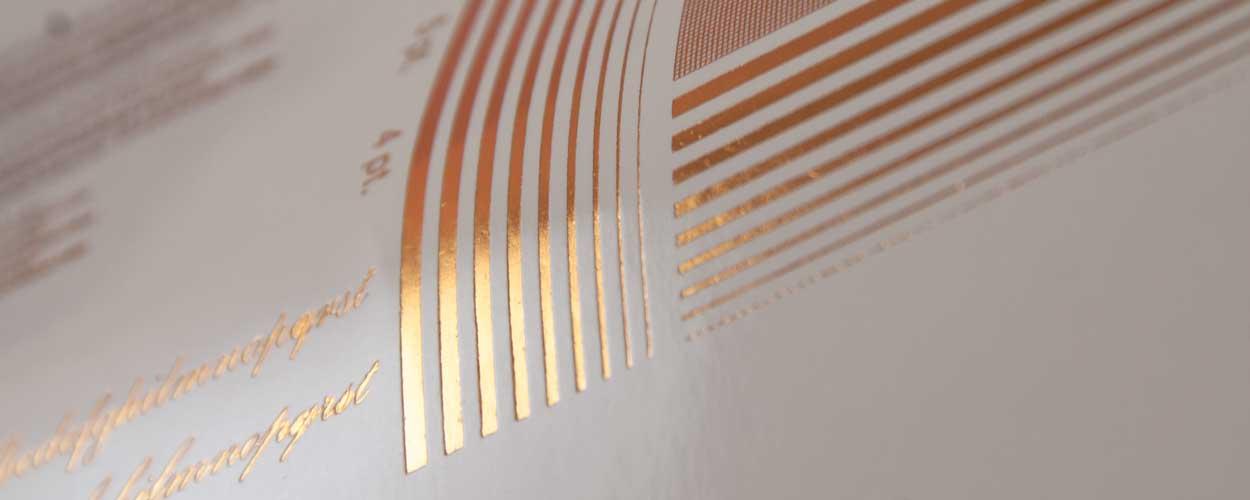 foil metallizzato per la stampa a caldo